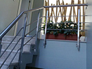 paslanmaz merdiven korkuluk modeli kod: TPS-03